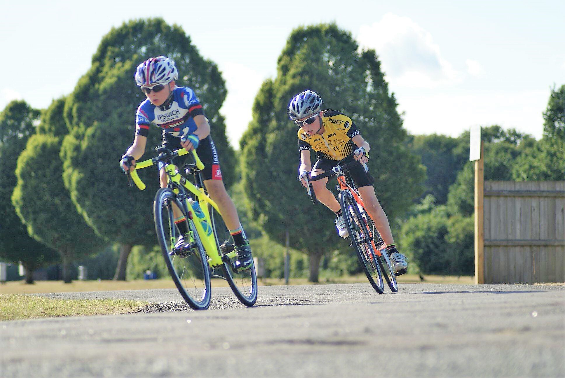Ben coming top 3 at Trinity Park in 2018