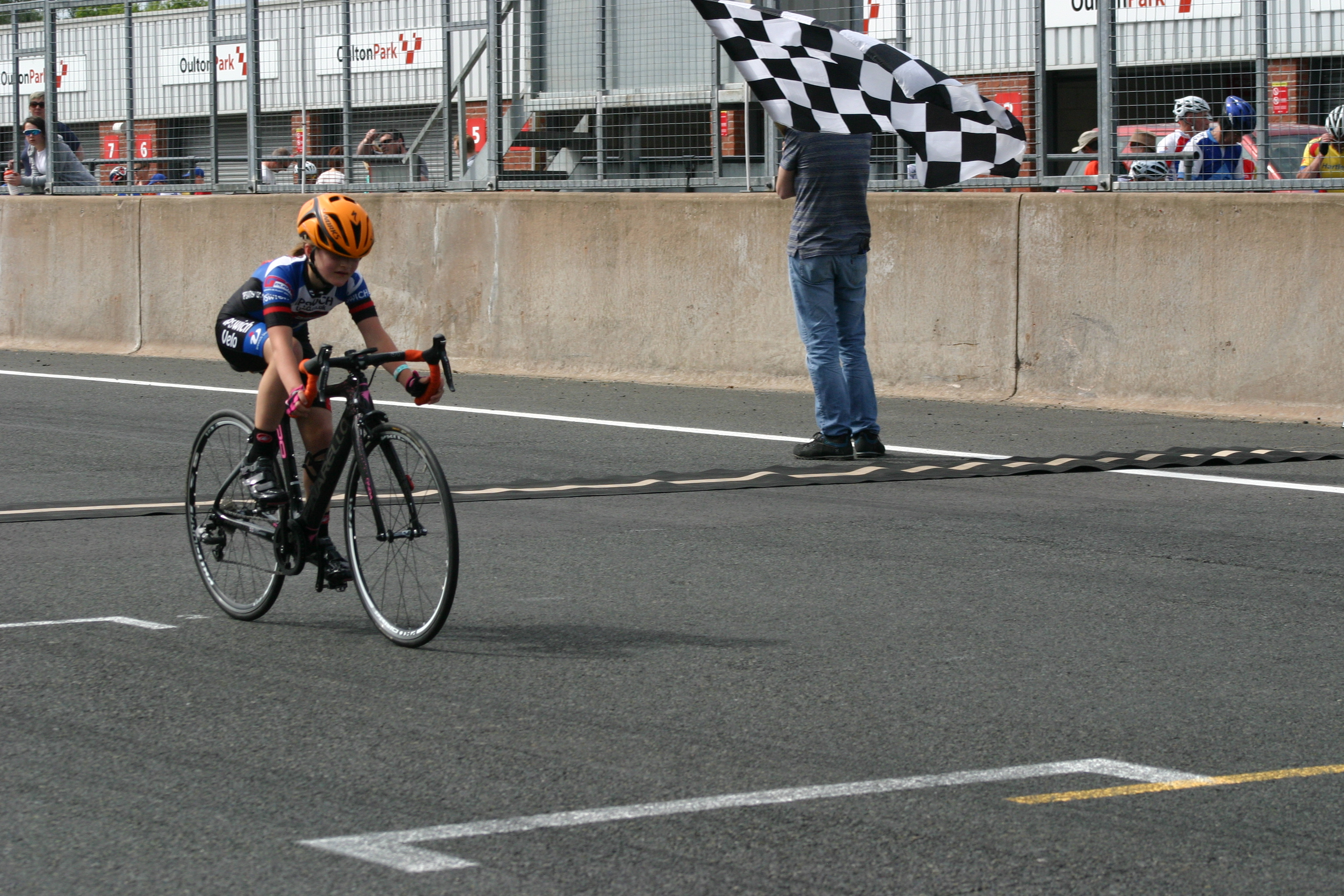 Abbey, first girl in the TLI National Championships