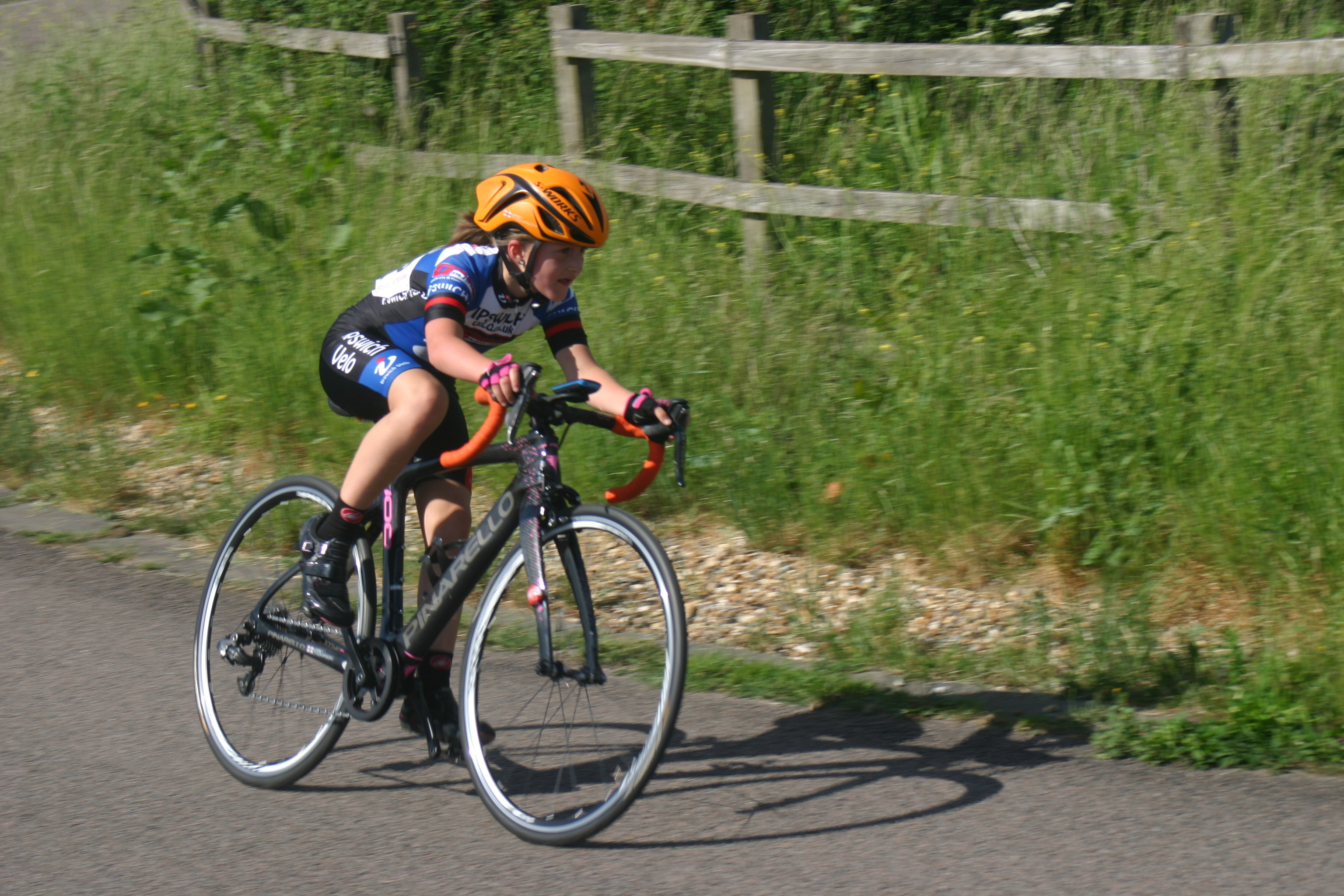 Abbey coming 3rd to 10yr olds in the Hillingdon NYS race in 2018