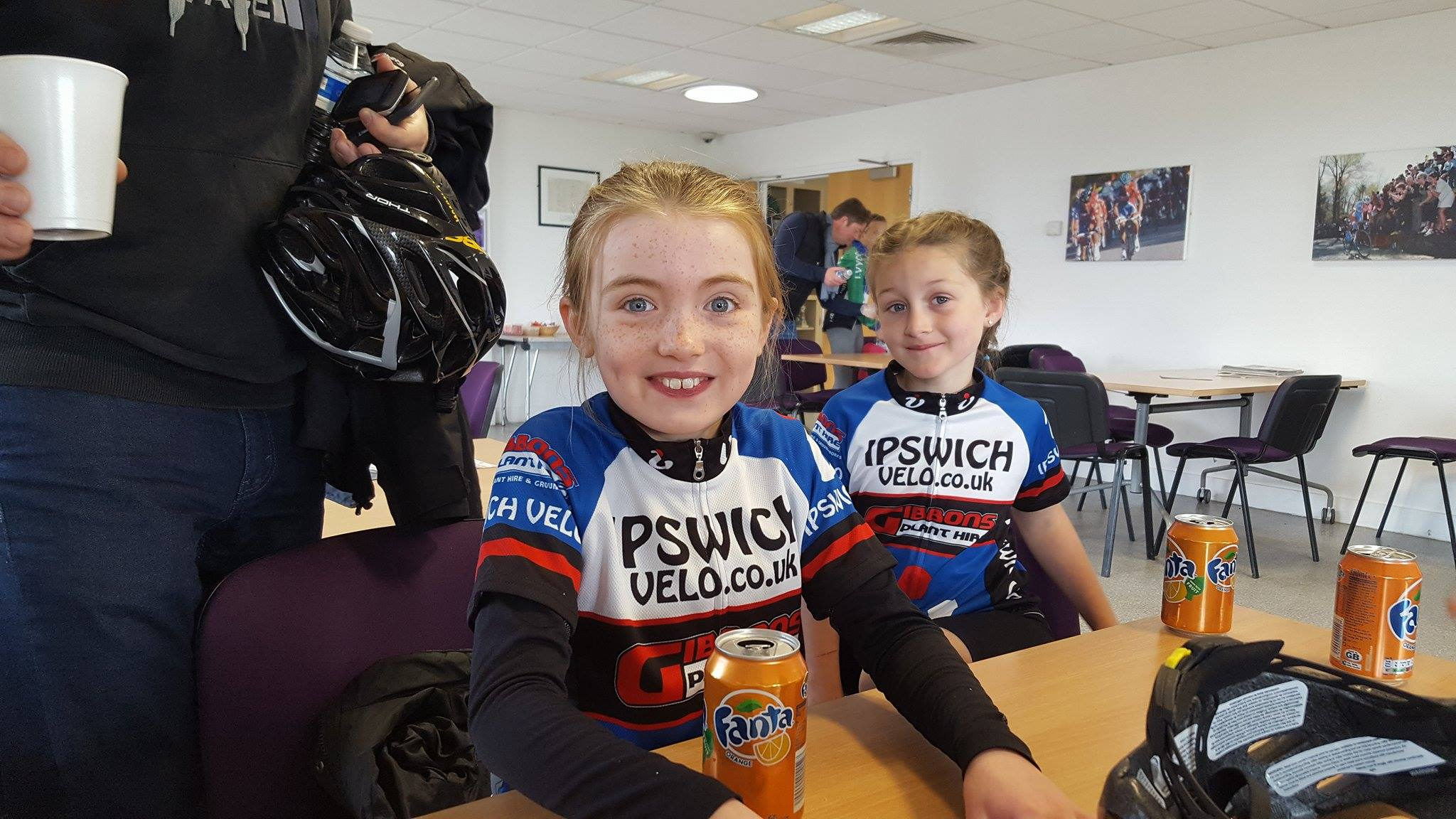 Imogen and Abbey getting top 3 at Redbridge 2017