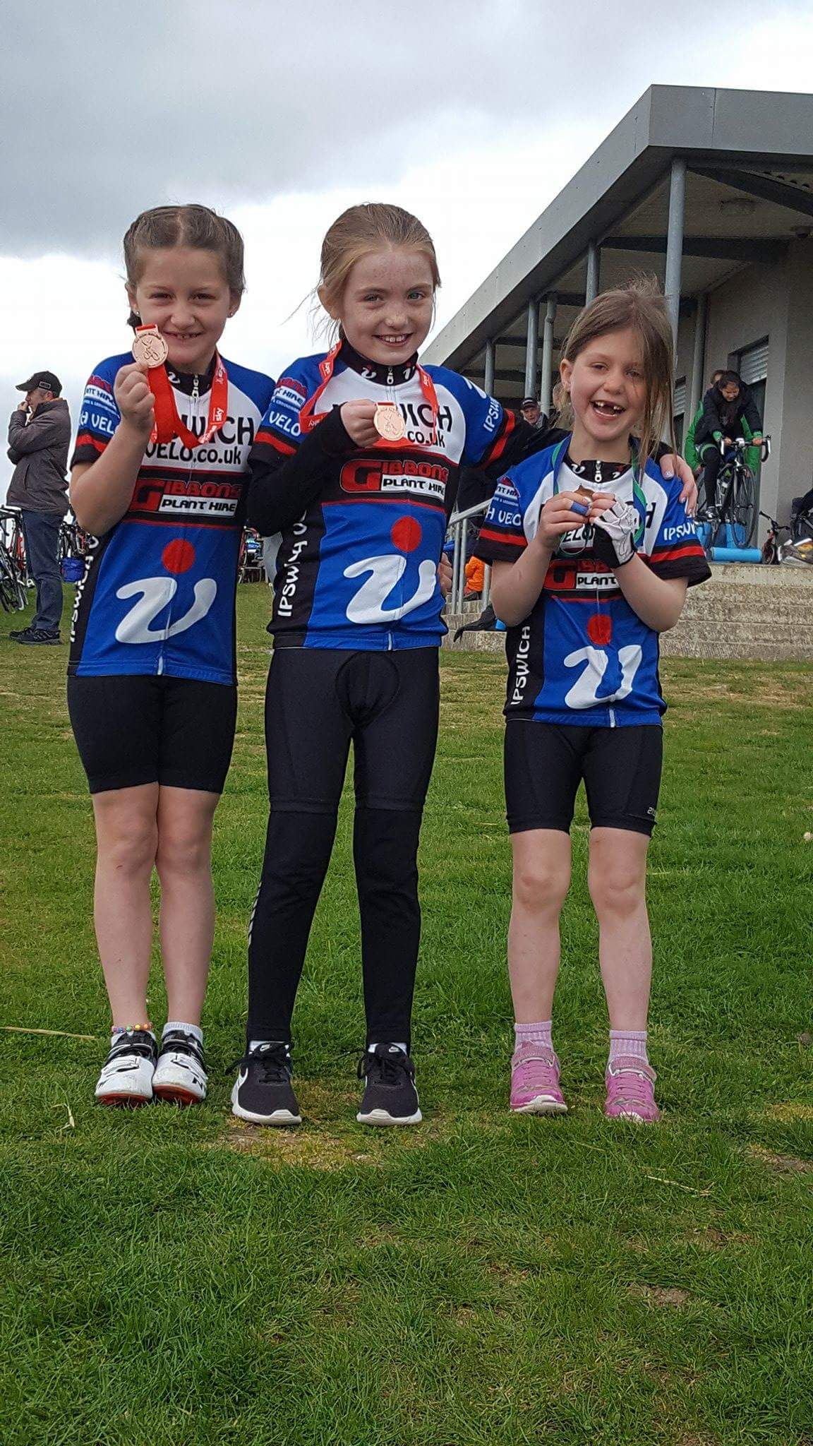 Redbridge 2017 Wins and top 3 placings for the girls
